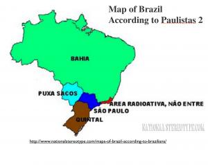 Brazil Paulista Stereotype2 map