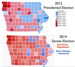 Iowa 2012 2014 Elections