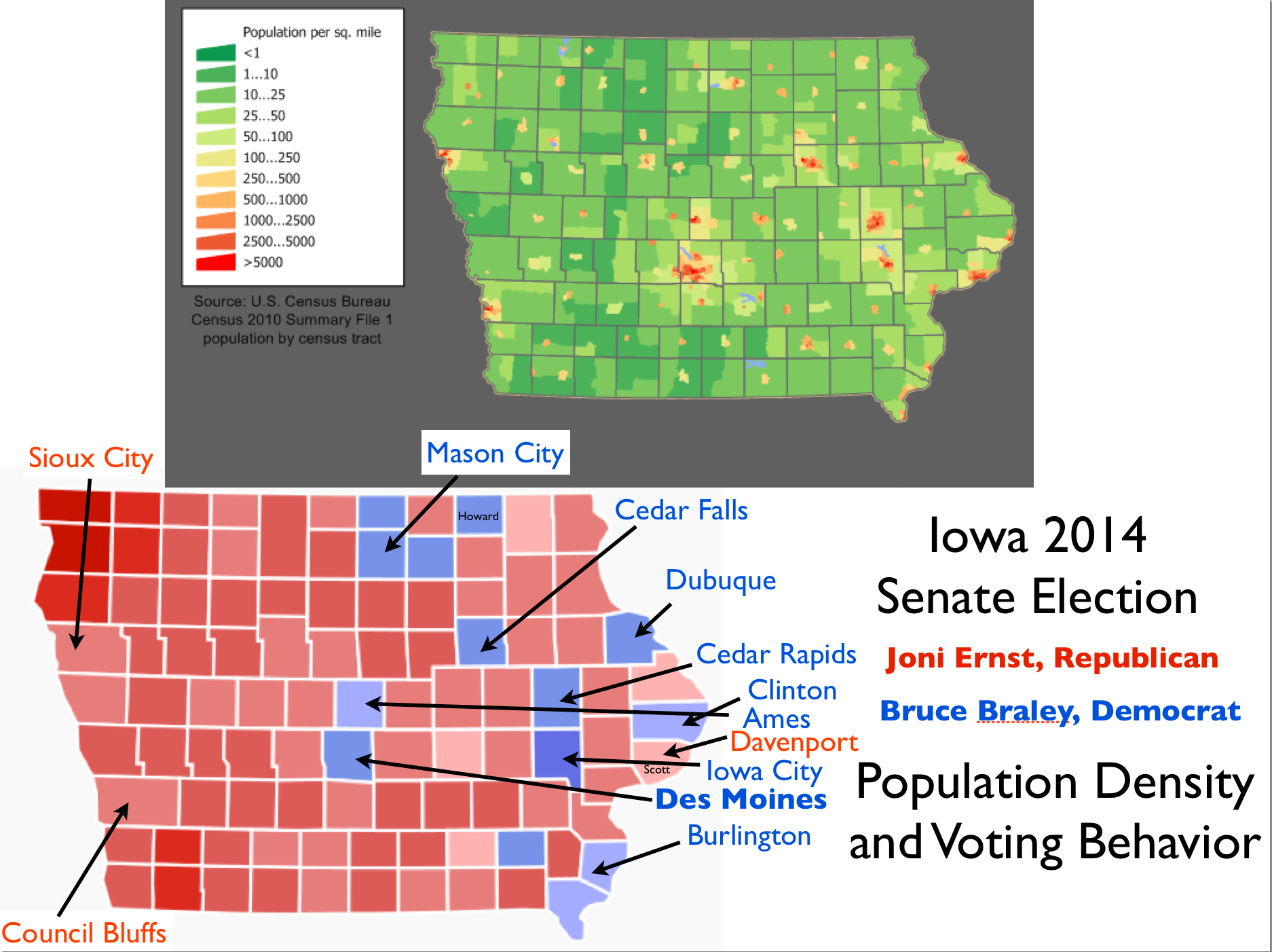 The Geography of Iowa\'s Republican Shift