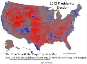 Larry Weru's 2012 Election Map