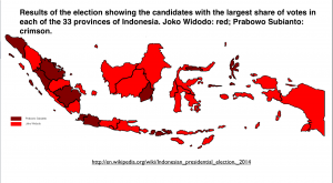 Indonesia 2014 Election Wikipedia map