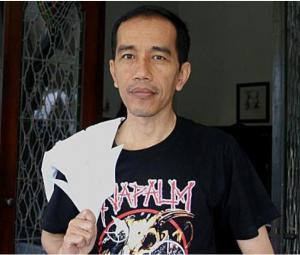 Jokowi Napalm Death 2