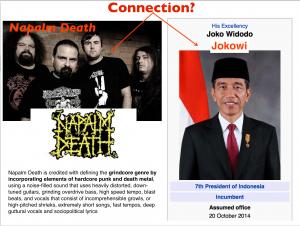 Jokowi Napalm Death