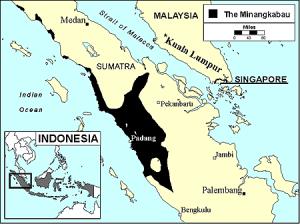 Minangkabau Map