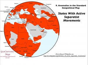 Separatist Movements Map