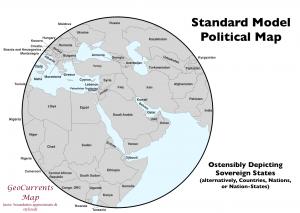 Standard Model Political Map