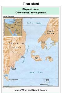 Tiran Island Map