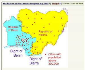Division of Nigeria Map 3
