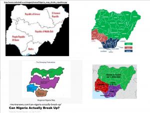 Division of Nigeria Map 6