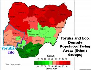 Nigeria 2015 Election Yoruba Map