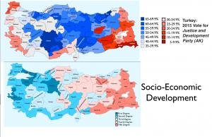 Tuerkey Development Vote Map