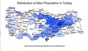 Turkey Alevi Population Map