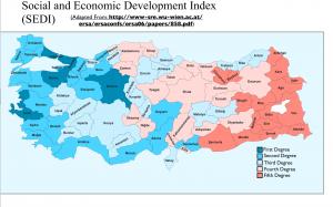 Turkey Socio-Economic Development Map