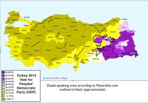 Zazaki and Turkish Election 1