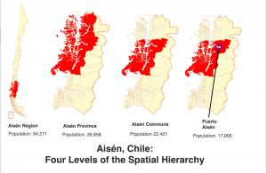 Aisen Chile Map