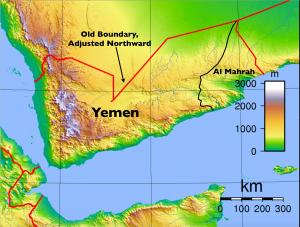 Al Mahrah Yemen Map
