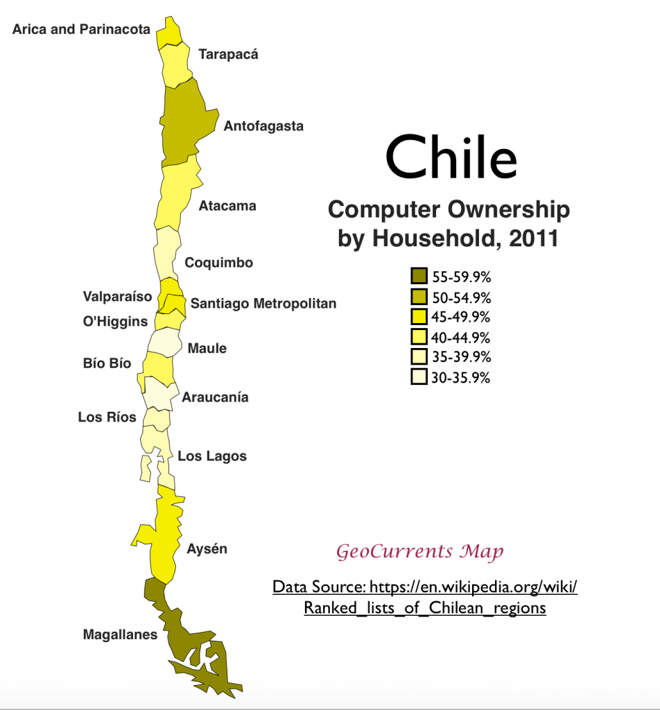 an overview of the landscape and economy of chile Chile has long been considered one of latin america's least corrupt countries, which is why recent revelations have left the nation in shock.