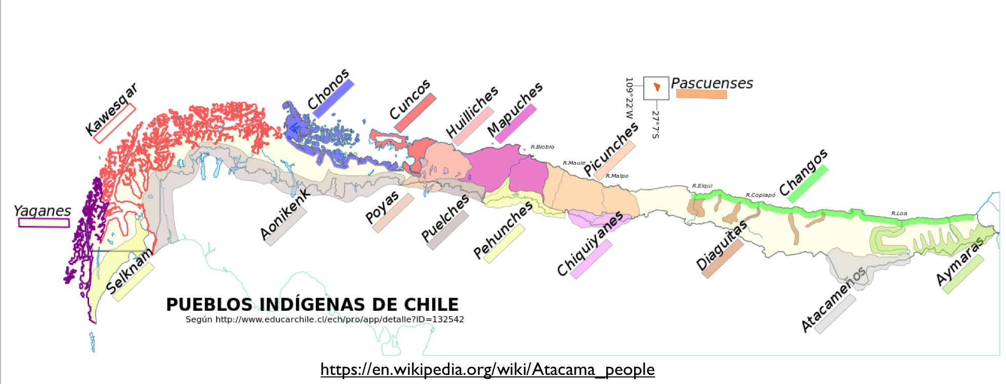 Mapping Chiles Indigenous Population GeoCurrents