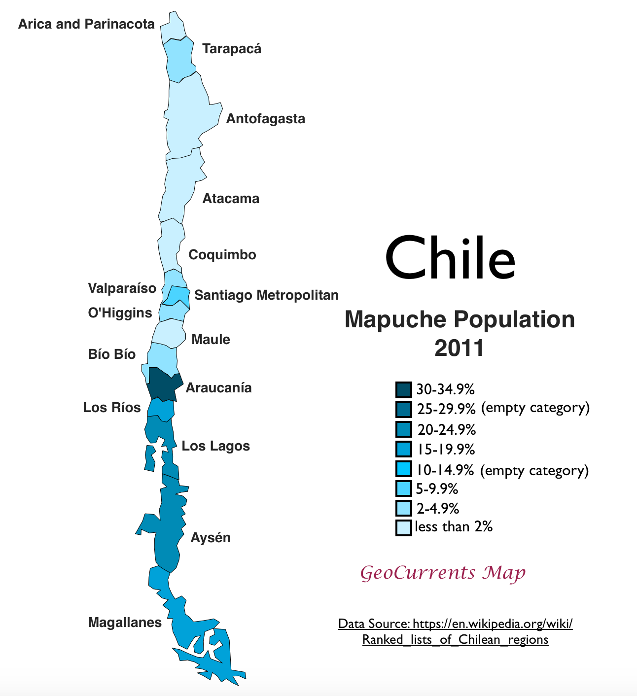 Mapping Chile's Indigenous Potion on central america on a map, saudi arabia on a map, santiago-chile map, spain on a map, coastal region on a map, southern india on a map, santa domingo on a map, bolivia on a map, colombia on a map, nicaragua on a map, tonga on a map, dr congo on a map, the sudan on a map, honduras on a map, brazil on a map, venezuela on a map, argentina on a map, taiwan on a map, new zealand on a map, cyprus on a map,