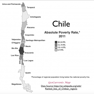 Chile Poverty Map