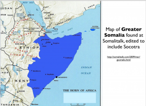 Greater Somalia Map