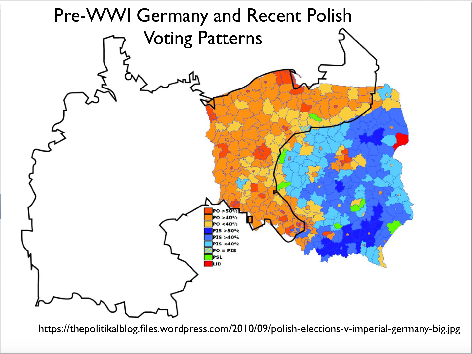 Polands Stark Electoral Divide GeoCurrents - Germany map 2015
