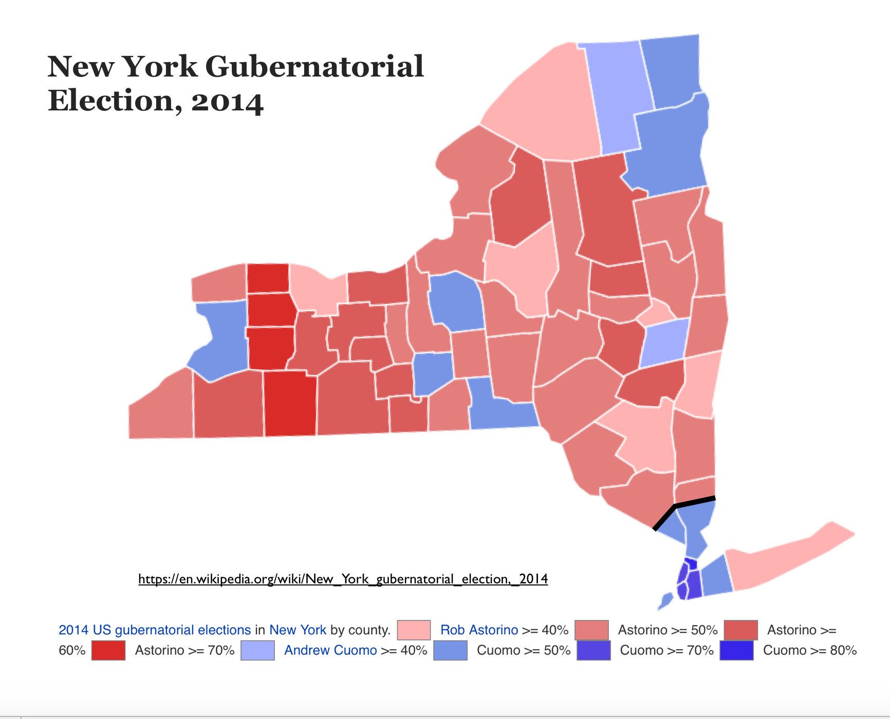 The Quixotic Campaign To Split New York State  GeoCurrents