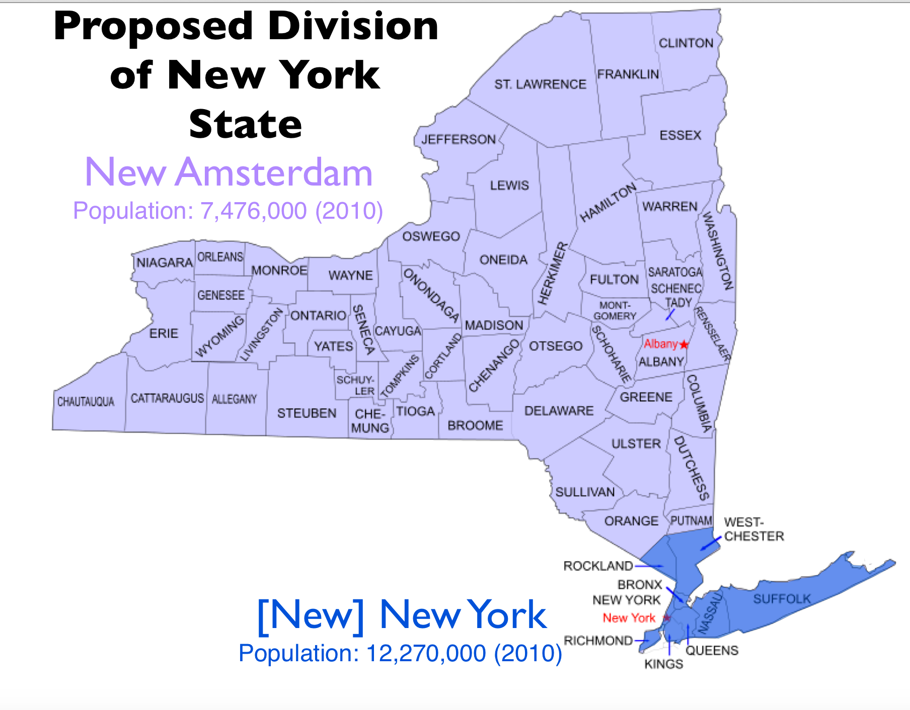 Fracking New York State Map.The Quixotic Campaign To Split New York State Geocurrents