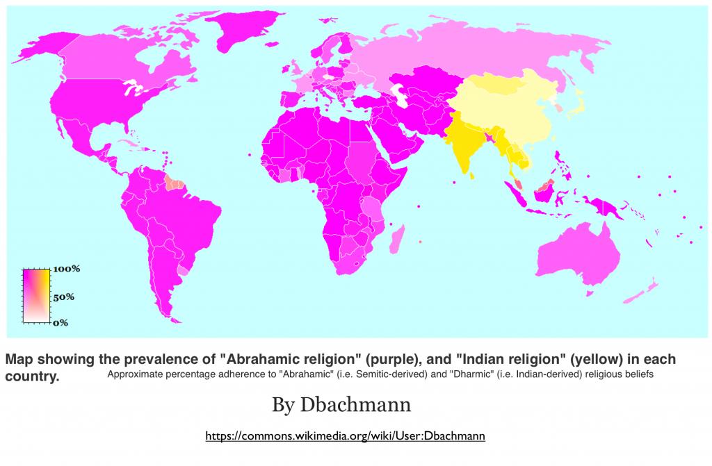 World GeoCurrents - Five major religions