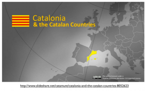 Catalan Countries map