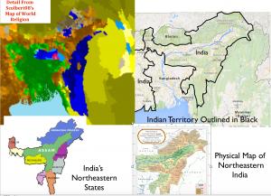 Northeast India Maps