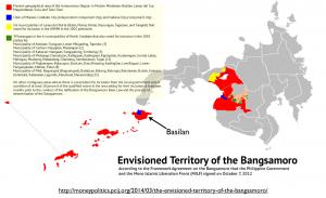 Bangsamoro Territory Map