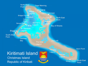 Kiritimati Island Map