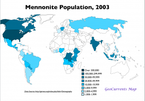 Mennonite World Map