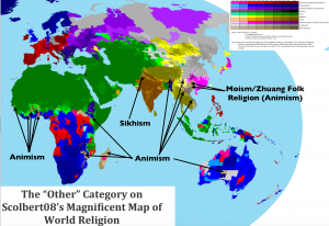 Other Religion Map 2