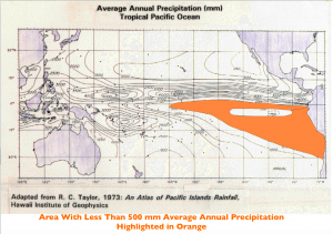 Pacific Rainfall Map