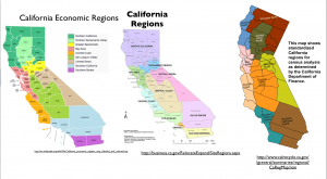 California Regions Map 2