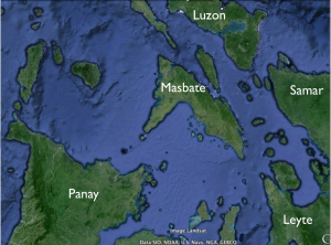 Central Philippines Google Earth