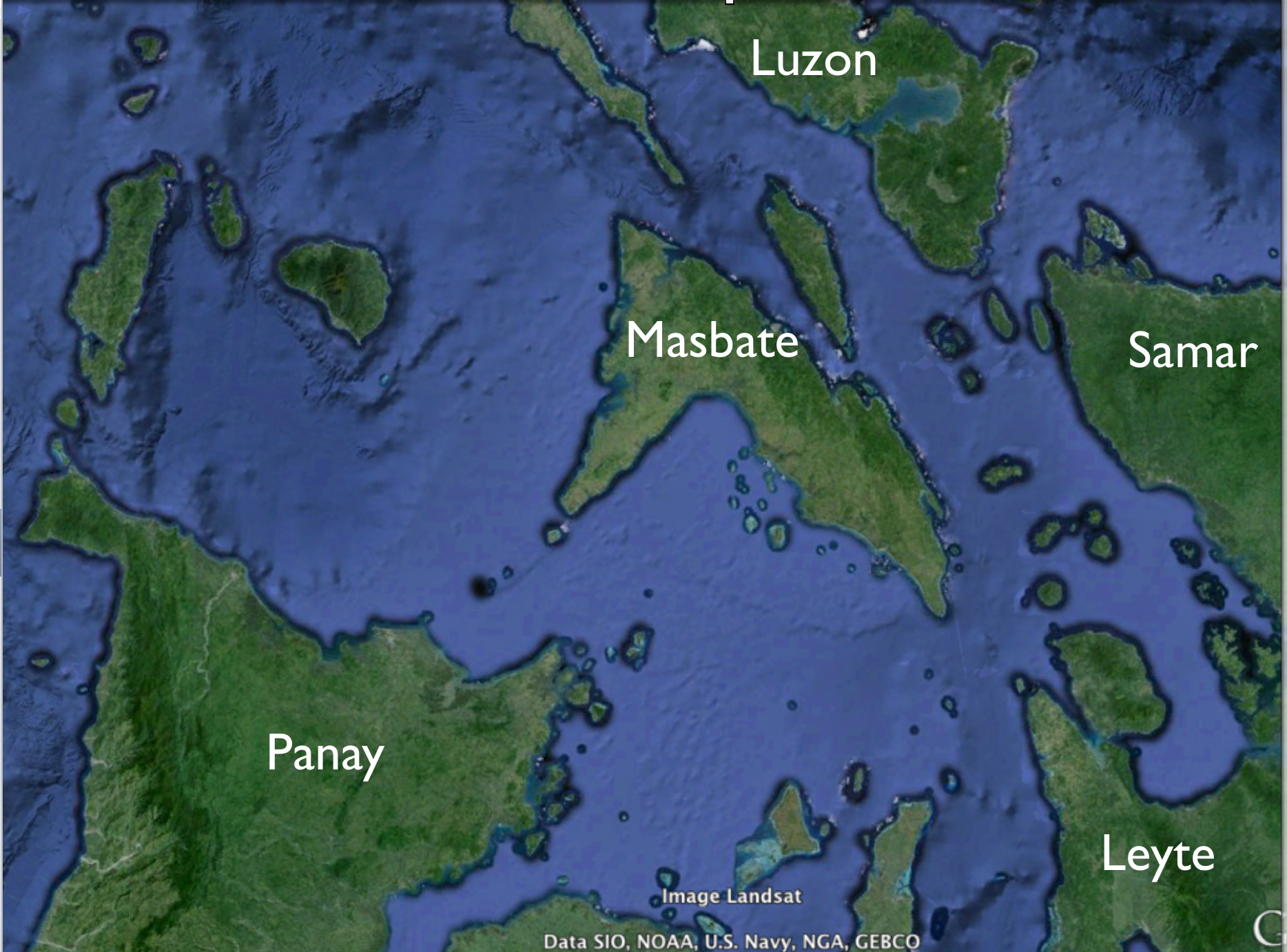 Central philippines google earth geocurrents gumiabroncs Image collections
