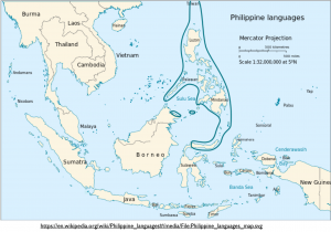 Philippine Languages Map