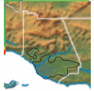 Ventura County Topography