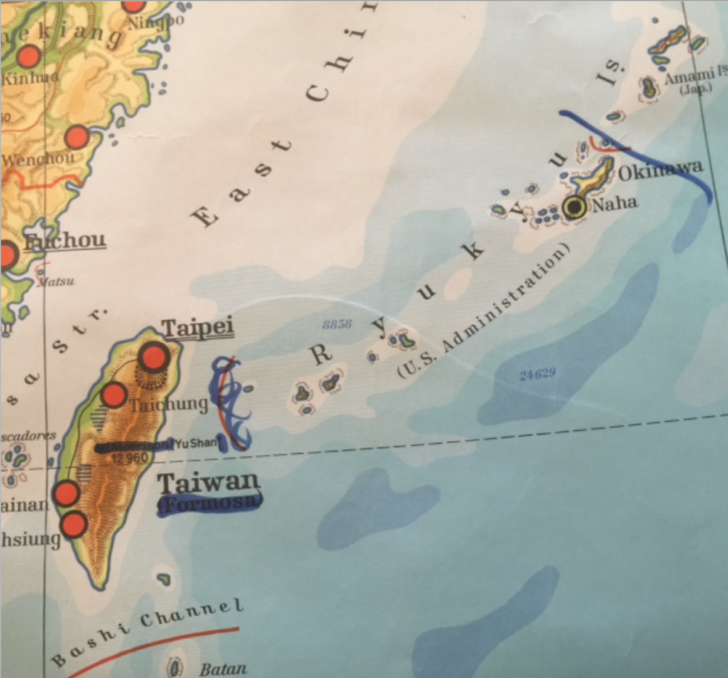 Nationalist Defacement of Maps at Stanford University