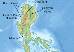 Luzon Central Plain Map