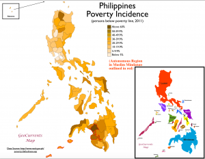 Philippines Poverty Map