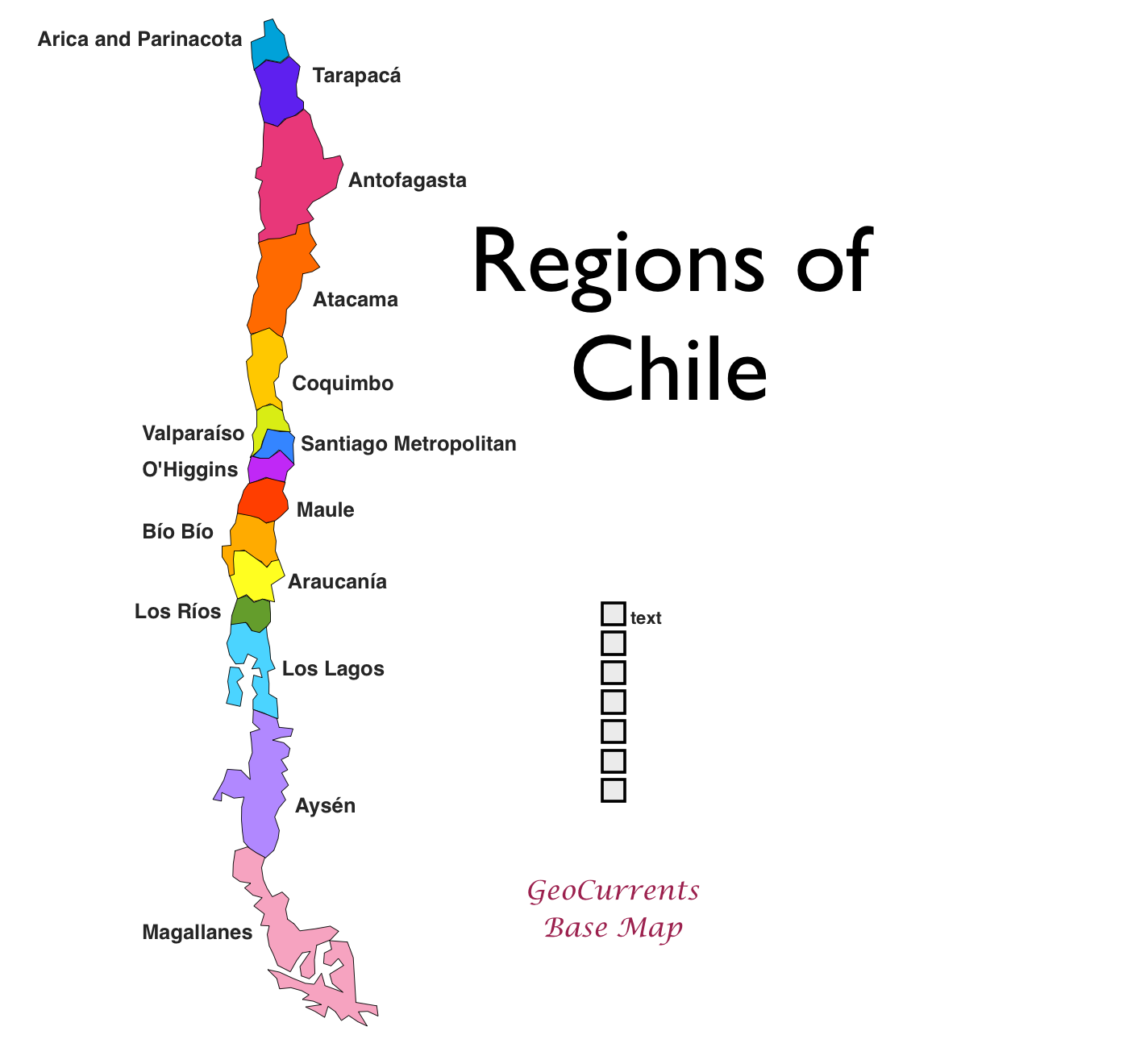 GeoCurrents Maps of Chile GeoCurrents