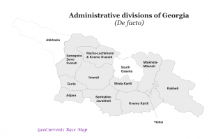 Divisions of Georgia De Facto