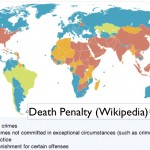 Wikipedia Map of Death Penalty