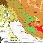 Language Map of Persian/Arabic Gulf from Muturzikin