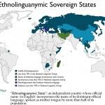 Map of Ethnolinguanymic States