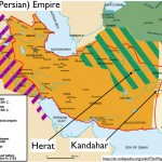 Wikipedia Map of the Persian Safavid Empire